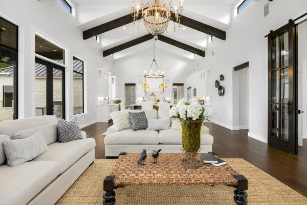 Boerne Custom Home - Modern Farmhouse Open Concept Floor Plan