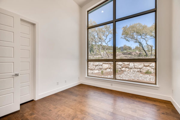 San Antonio Custom Home - Office Room Window