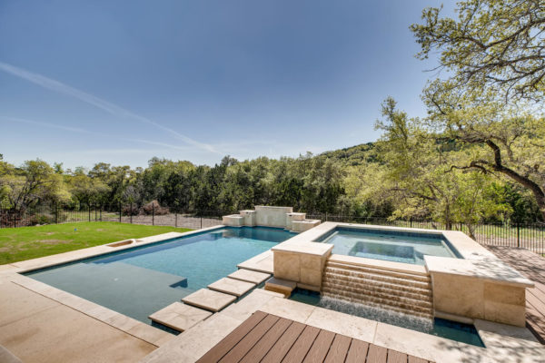 San Antonio Custom Home - Pool Picture - Hidden Canyon