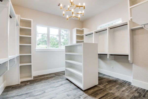 Boerne Custom Home - Master Bedroom