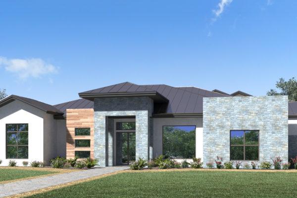 3D Rendering of San Antonio Custom Home
