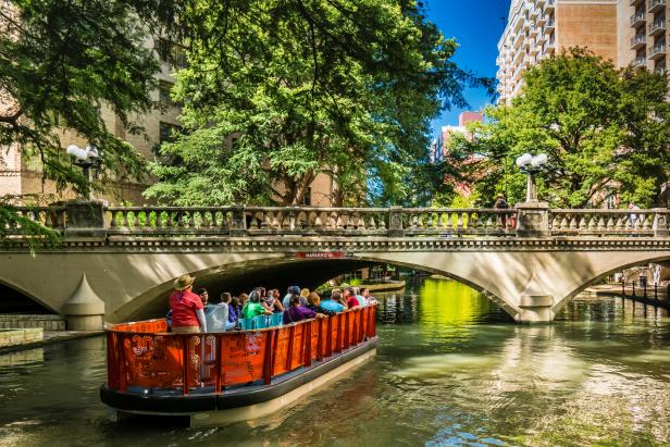 San Antonio River Walk Boat Ride