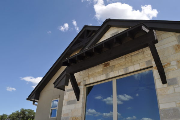 Hill Country Transitional Front Exterior Details